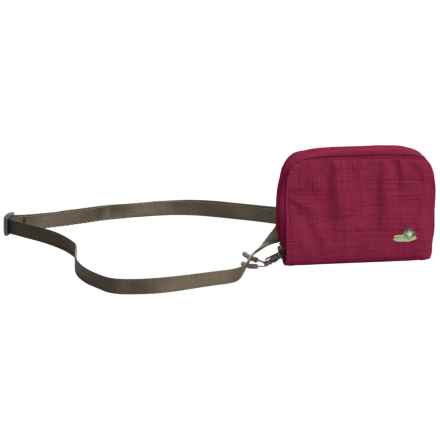Lilypond Savannah Wallet - Shoulder Strap (For Women) in Alpine Berry - Closeouts