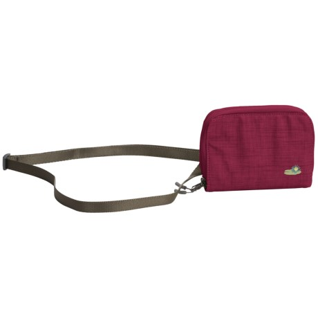 Lilypond Savannah Wallet - Shoulder Strap (For Women) in Alpine Berry