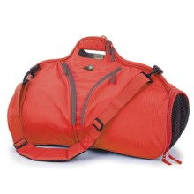 Lilypond Sundown Weekend/Sport Bag - Recycled Materials (For Women) in Persimmon - Closeouts