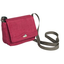 Lilypond Tall Grass Shoulder Bag (For Women) in Alpine Berry - Closeouts