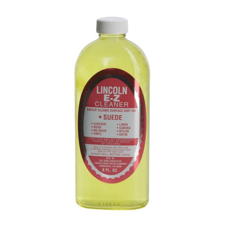 Lincoln Shoe Polish Company Original E-Z Shoe Cleaner - 8 fl.oz.