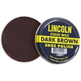 Lincoln Shoe Polish Company Premium Stain Wax Shoe Polish - 3 oz.