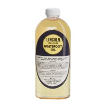 Lincoln Shoe Polish Company Pure Prime Neatsfoot Oil - 8 fl.oz. in See Photo - Closeouts