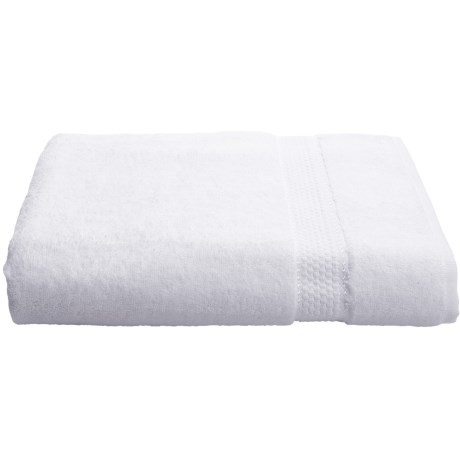 Linea Casa by Sferra Bath Towel - Low-Twist Turkish Cotton in White