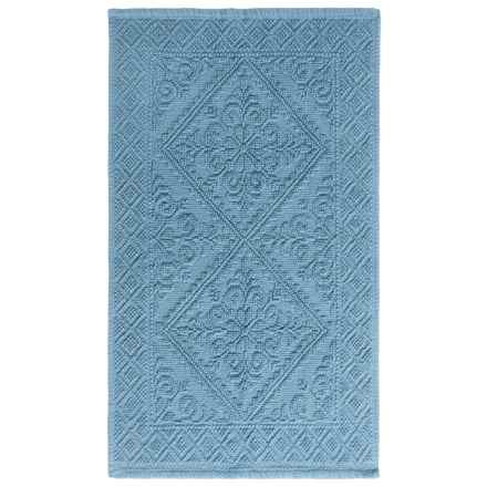 Lintex Estoril Bath Rug in Blue - Overstock