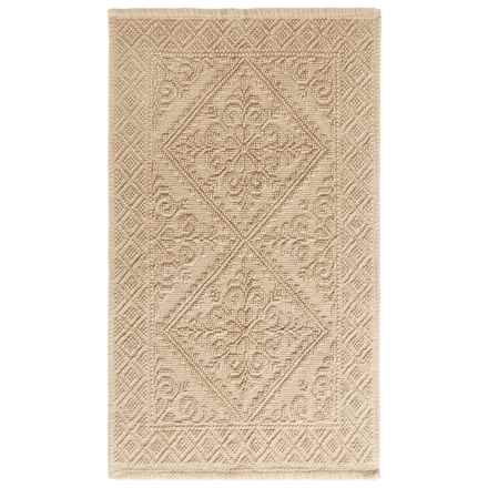 Lintex Estoril Bath Rug in Cream - Overstock