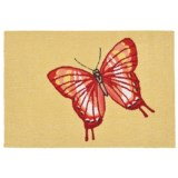 """Liora Manné Frontporch Butterfly Accent Rug - 20x30"""", Indoor/Outdoor"""