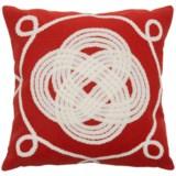 "Liora Manné Indoor-Outdoor Ornamental Knot Throw Pillow - 20x20"""
