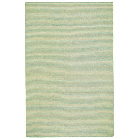 "Liora Manné Mojave Pencil Stripe Collection Accent Rug - 3'6""x5'6"", Indoor/Outdoor in Aqua"
