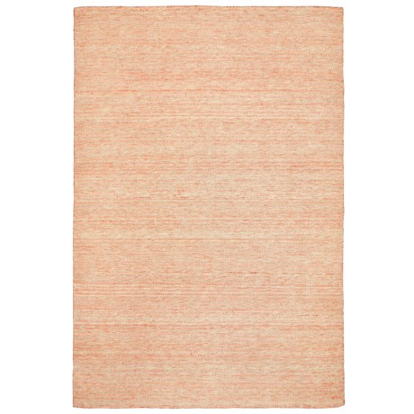 "Liora Manné Mojave Pencil Stripe Collection Area Rug - 5'x7'6"", Indoor/Outdoor in Orange"