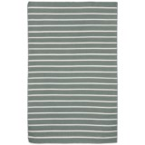 """Liora Manné Sorrento Pinstripe Collection Accent Rug - 3'6""""x5'6"""", Indoor/Outdoor"""