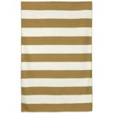 """Liora Manné Sorrento Rugby Stripe Collection Area Rug - 5'x7'6"""", Indoor/Outdoor"""