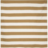 Liora Manné Sorrento Rugby Stripe Collection Area Rug - 8x8', Indoor/Outdoor
