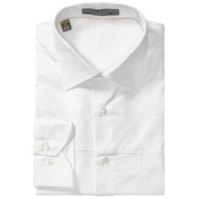 Lipson Contemporary Cotton Shirt - Long Sleeve (For Men) in White - Closeouts