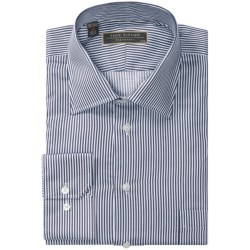Lipson Signature Spread Collar Dress Shirt - Classic Fit, Long Sleeve (For Men) in Blue