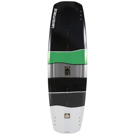 Liquid Force Deluxe Hybrid Wakeboard in 134 Graphic