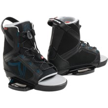 Liquid Force Index Wakeboard Bindings (For Men) in Black/Blue - Closeouts