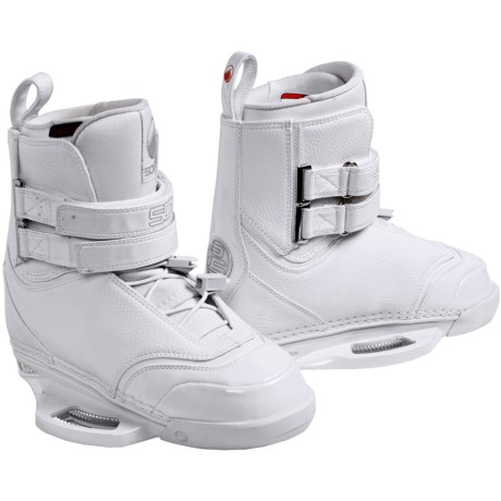 Liquid Force Soven Wakeboard Bindings (For Men) in White
