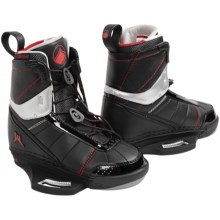 Liquid Force Watson Wakeboard Bindings (For Men) in Black/Red - Closeouts