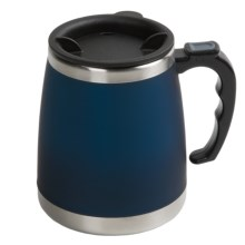 Liquid Solutions Chugg Travel Mug  - 16 fl.oz. in Frosty Blue - Closeouts
