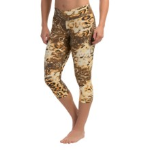 Liquido Pattern Crop Leggings (For Women) in Animal Kingdom - Closeouts
