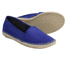 Lisa B. and Co. Suede Espadrille Shoes - Slip-Ons (For Women) in Cobalt - Closeouts