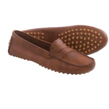 lisa b. Driving Moccasins - Suede (For Men and Women) in Setter Leather - Closeouts
