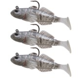 """Live Target Goby Paddle Tail Lure - 3-Pack, 3-5/8"""""""
