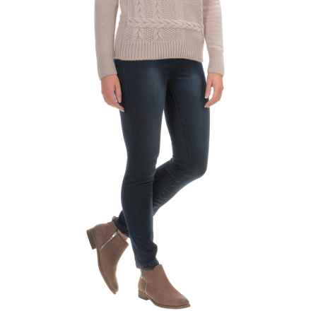Liverpool Jeans Abby Skinny Jeans (For Petite Women) in Dark Handsand - Closeouts