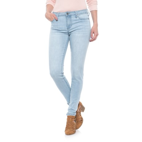 Liverpool Jeans Company 5-Pocket Skinny Jeans (For Women) in Boulder Bleach