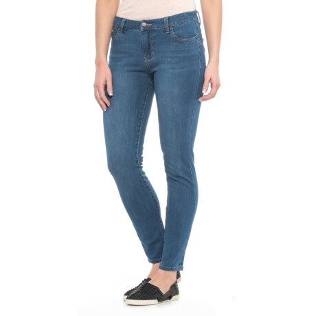 Liverpool Jeans Company Contour and Shaping Skinny Ankle Jeans - Mid Rise (For Women) in Hydra Stone