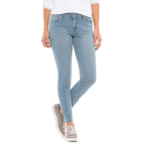 Liverpool Jeans Company Contour and Shaping Skinny Ankle Jeans - Mid Rise (For Women) in Light Denim