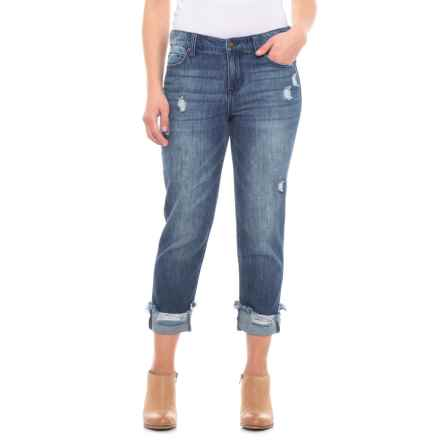Liverpool Jeans Company Crop Boyfriend Jeans (For Women) in Hasley - Closeouts