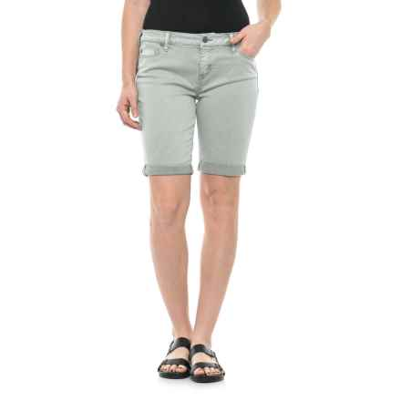 Liverpool Jeans Company Jeans Company Boyfriend Bermuda Shorts (For Women) in Pearl Grey - Closeouts