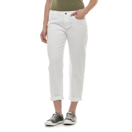 Liverpool Jeans Company Jeans Company Relaxed Crop Jeans (For Women) in White
