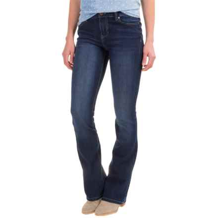 Liverpool Jeans Company Logan Hugger Bootcut Jeans (For Women) in Orion Medium Dark - Closeouts
