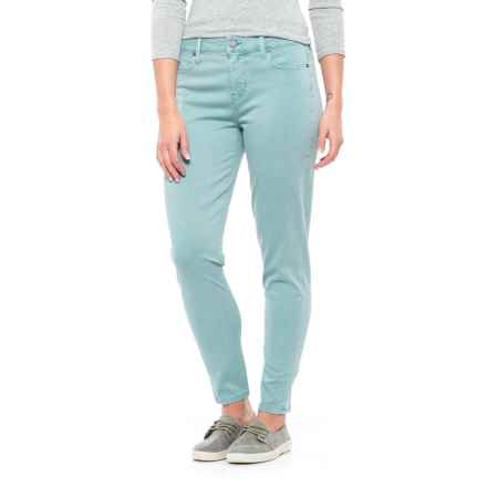 Liverpool Jeans Company Relaxed Ankle Skinny Pants - Mid Rise (For Women) in Slate Blue - Closeouts