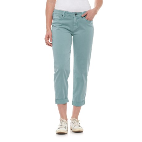 Image of Liverpool Jeans Company Relaxed Crop Jeans (For Women)