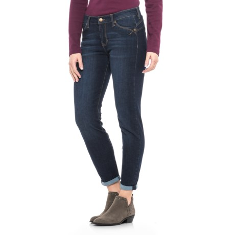 Liverpool Jeans Company Remy Hugger Crop Jeans (For Women) in Corvus Dark