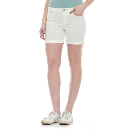 Liverpool Jeans Company Shorts (For Women) in White