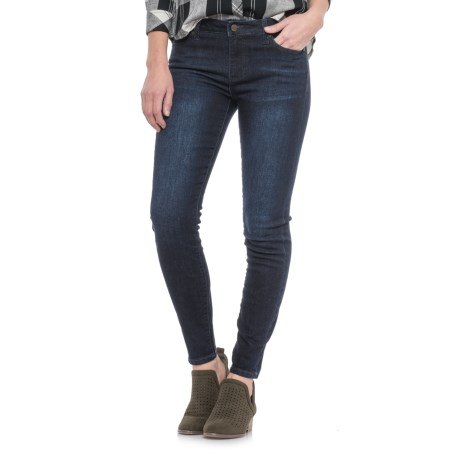 Liverpool Jeans Company Skinny Ankle Jeans (For Women) in Vintage Super Dark