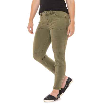 Liverpool Jeans Company Skinny Ankle Pants (For Women) in Olive Night - Closeouts