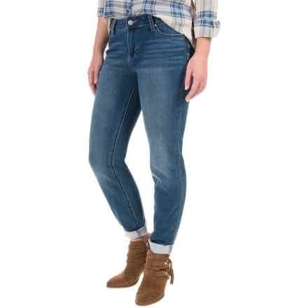 Liverpool Jeans Sadie Jeans - Straight Leg (For Petite Women) in Carolina Light - Closeouts