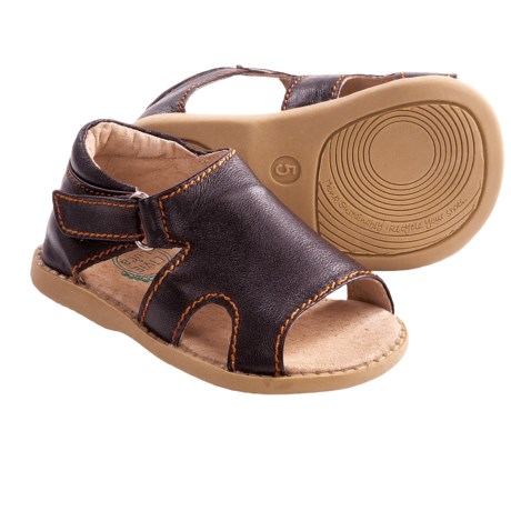 Livie & Luca Barcelona Sandals (For Toddlers and Kids) in Chocolate