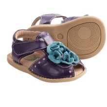 Livie & Luca Bloom Sandals - Leather (For Toddler and Kid Girls) in Purple - Closeouts