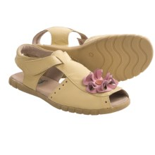 Livie & Luca Bloom Sandals - Leather (For Youth Girls) in Yellow - Closeouts