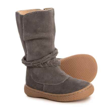 Livie & Luca Calliope Boots - Suede (For Girls) in Grey - Closeouts