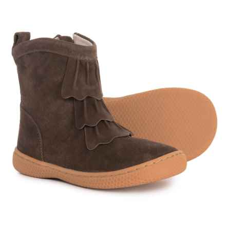 Livie & Luca Pepper Boots - Suede (For Girls) in Mocha - Closeouts