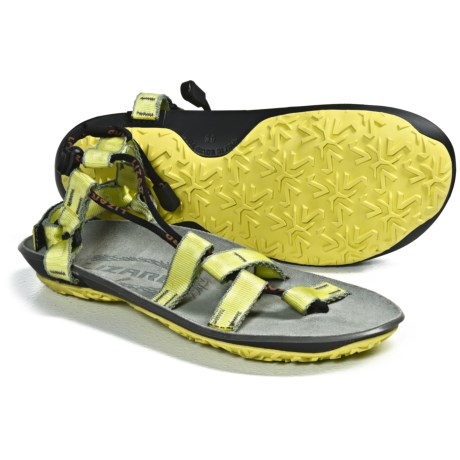 Lizard Kiota Sandals (For Women) in Lime