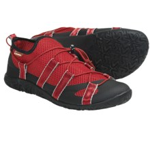 Lizard Kross Moccasins (For Women) in Red - Closeouts